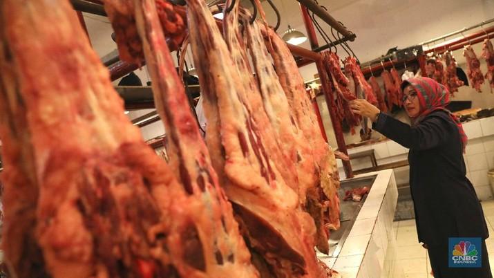 daging (CNBC Indonesia/Andrean Kristianto)