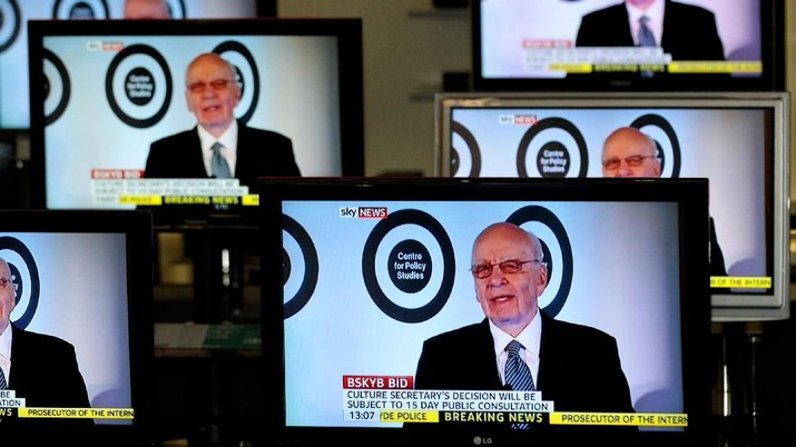 Nyerah Lawan Corona, Rupert Murdoch Tutup 60 Surat Kabar