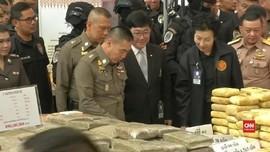 VIDEO: Thailand Sita Kristal Sabu Senilai Rp308 Miliar