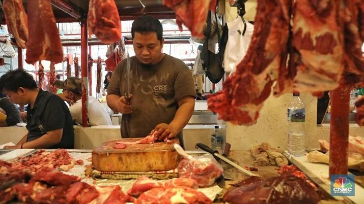 Pedagang: Daging Brasil Murah Rp10 Ribu/Kg dari Australia
