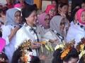 VIDEO: Aksi Ibu Negara Menari Pendet Bersama Murid TK