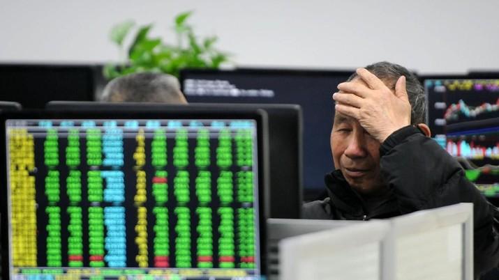 Bursa saham China dan Hong Kong mengawali perdagangan kedua di pekan ini, Selasa (21/1/2020), di zona merah.