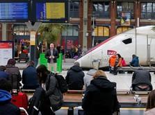 Mogok Pegawai Kereta Prancis Sebabkan Kerugian Rp 1,6 T