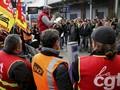 FOTO: Aksi Mogok Massal Buruh di Perancis