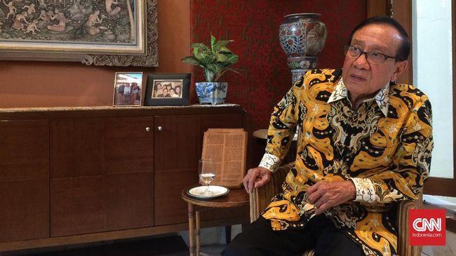 Akbar Tandjung Doakan Jokowi Lanjut Dua Periode