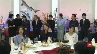 VIDEO: Penyanyi K-pop Korsel Hadiri Jamuan di Pyongyang