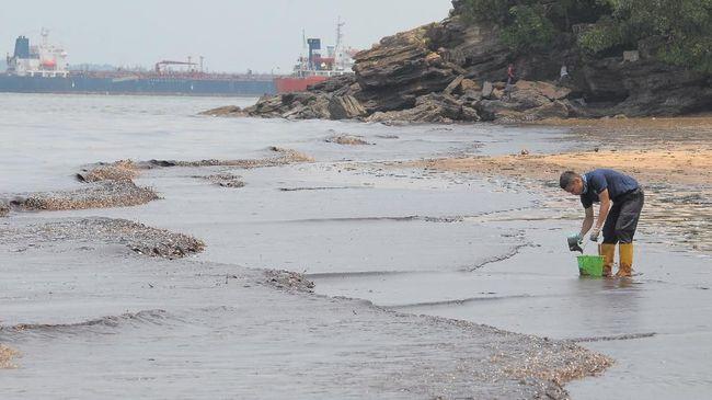 Plt Wali Kota Balikpapan: Tumpahan Minyak Milik Pertamina