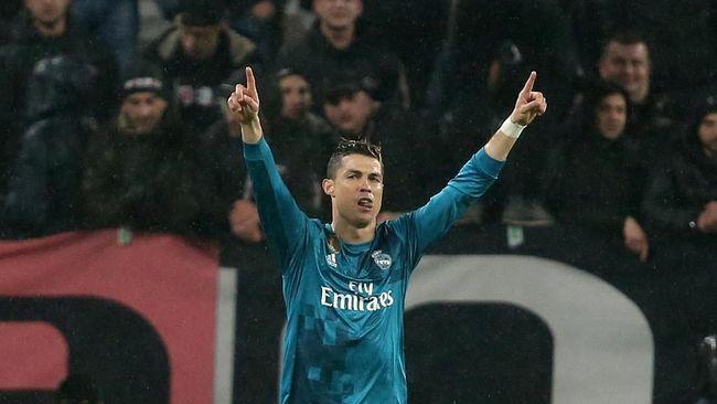 Top Skor Sementara Liga Champions 2018: Ronaldo Kian Melejit
