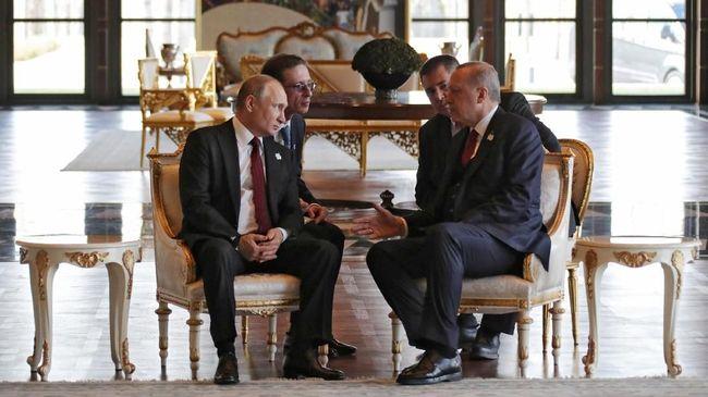 Erdogan Ajak Putin Bikin Rudal Bareng