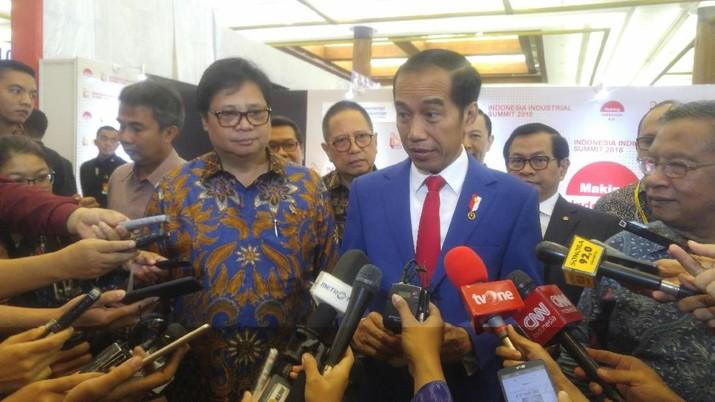 Psst..Jokowi Sebut Laba Pertamina 2018 Capai Rp 20 T