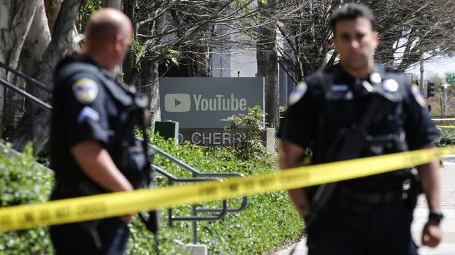 Videonya Difilter Youtube, Seorang Wanita Menyerang Markas Youtube #SURUHGOOGLEAJA