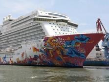 Kapal Pesiar Genting Dream Cruise Merapat di Jakarta
