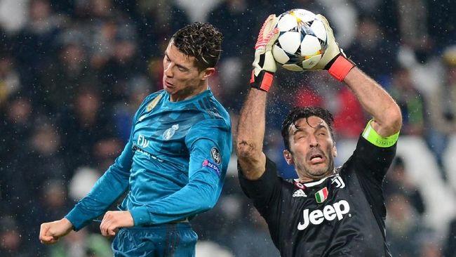 Buffon Pasrah Lawan Real Madrid