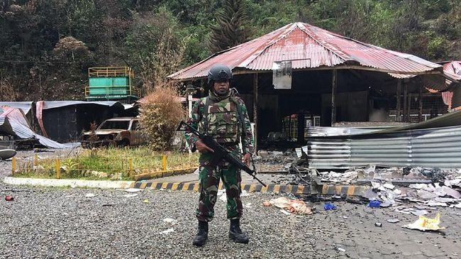 TNI Bantah Serang Kelompok Bersenjata di Nduga Papua