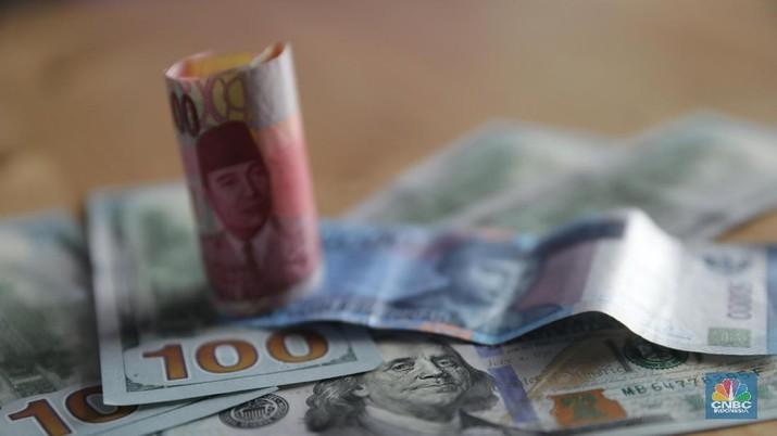 Dollar-Rupiah (CNBC Indonesia/Muhammad Sabki)