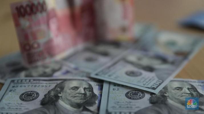 Penutupan Pasar: Rupiah Menguat ke Rp 14.055/UD$