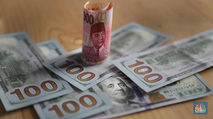 Pukul 09:00 WIB: Rupiah Melemah ke Rp 14.035/US$