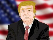 Perang Dagang, Trump Ancam Kenakan Rp 1.350 T ke China