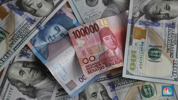 Penutupan Pasar: Rupiah Melemah ke 14.055/US$