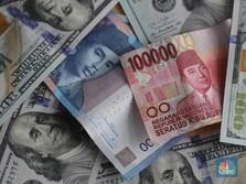 Pukul 12:00 WIB: Rupiah Melemah ke Rp 14.100/US$