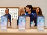 Rekor! Kapitalisasi Pasar Apple Tembus Hampir Rp 30.000 T
