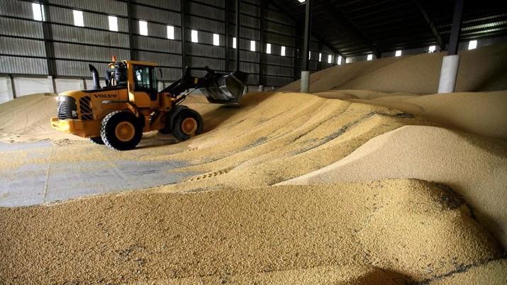 Badan Pusat Statistik (BPS) menunjukkan, total impor kacang kedelai sepanjang tahun lalu mencapai 2,58 juta ton atau senilai US$ 1,10 miliar.