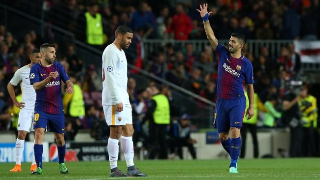 AS Roma Masih Optimistis Lolos ke Semifinal Liga Champions