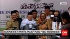 Ma'ruf Amin Minta Umat Islam Maafkan Sukmawati Soekarnoputri