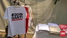 Viral Isu Razia Kaus #2019GantiPresiden, Polri Pastikan Hoaks