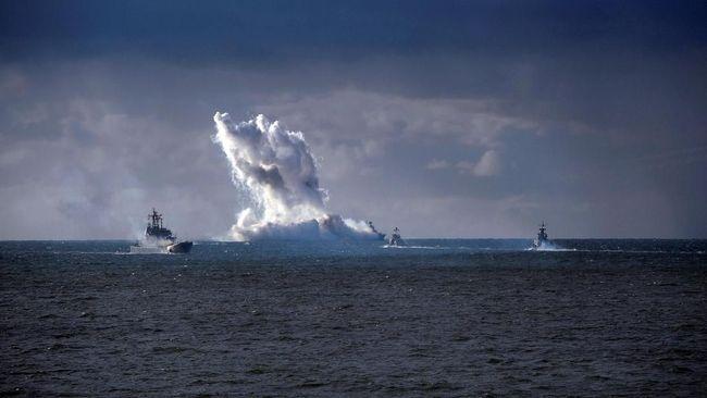 Rusia Kirim Armada Kapal Perang Terbesar ke Suriah