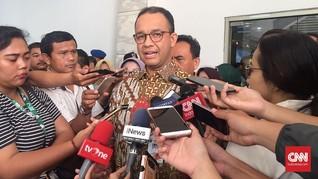 Anies Klaim Inflasi DKI Jakarta Lebih Rendah dari Nasional