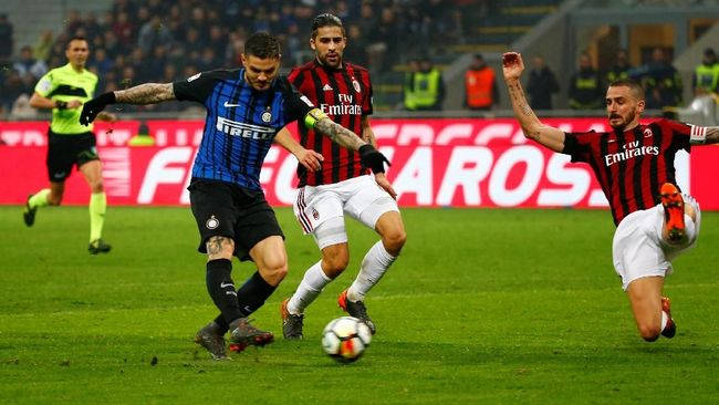 Data dan Fakta Jelang Derby Della Madonnina Inter vs Milan