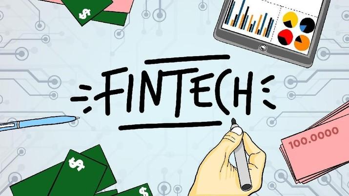 Otoritas Jasa Keuangan (OJK) melakukan updating data perusahaan Financial Technology (Fintech) yang resmi terdaftar