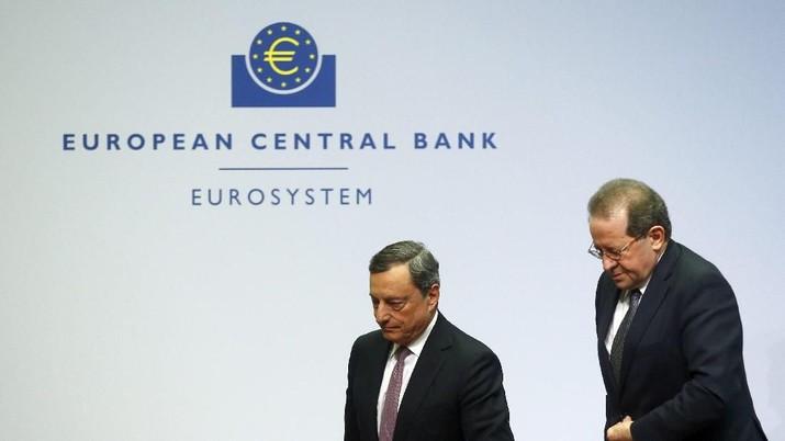 Mario Draghi Bikin Pasar Obligasi Nelangsa di Akhir Pekan