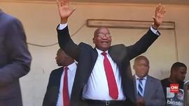 VIDEO:  Eks-Presiden Afsel Zuma Yakin Dirinya Tak Korupsi