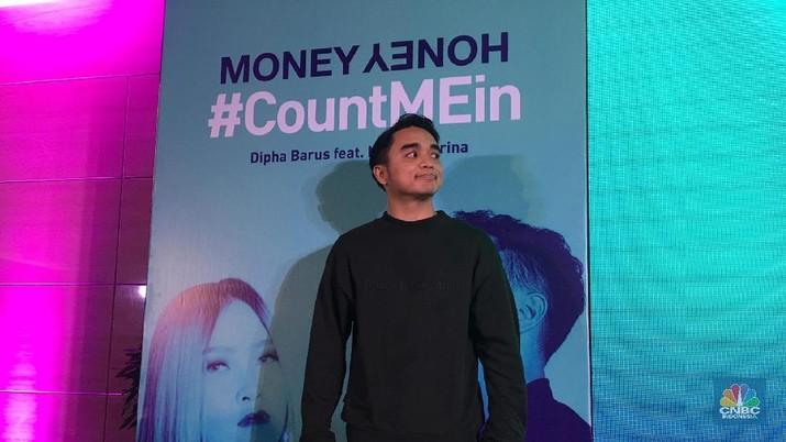 Dipha Barus mengaku 50% pendapatannya jadi tabungan.