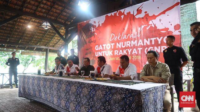 Relawan Deklarasi Dukungan Gatot Nurmantyo Capres 2019