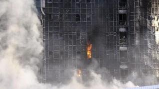 FOTO:  Rumah Sakit Istanbul Terbakar, Pasien Dievakuasi