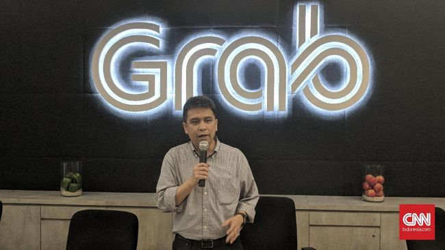 Grab Imbau Pengemudi Tak Demo Saat Asian Games