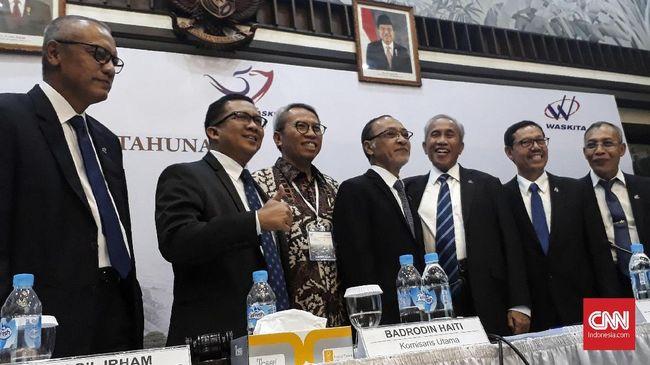 BUMN Angkat Dirut Hutama Karya Jadi Nakhoda Baru Waskita