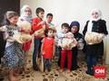 Roti 'Khobz' dari Indonesia buat Pengungsi Suriah