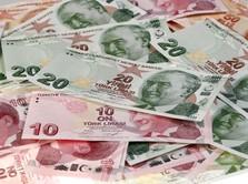 Lira Anjlok, Bank Sentral Turki Naikkan Bunga 300 Basis Poin