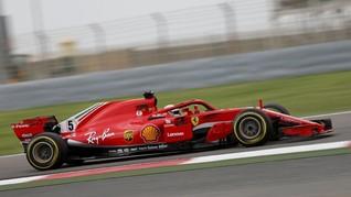 Hamilton Mogok, Vettel Raih Pole GP Jerman 2018