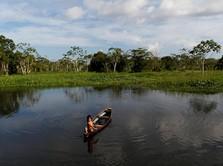 1 Wanita dari Suku Amazon di Pedalaman Brasil Positif Corona