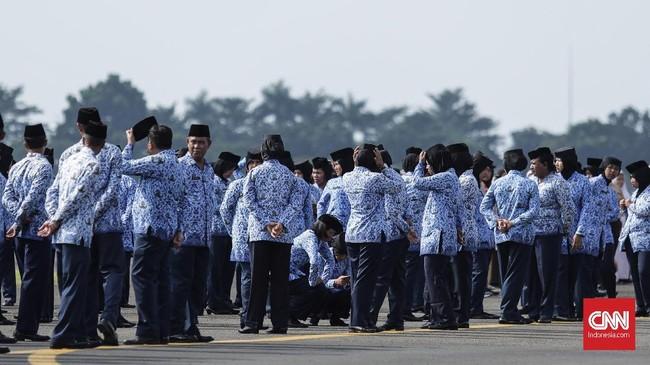Pencairan THR PNS Tinggal Tunggu Tandatangan Jokowi