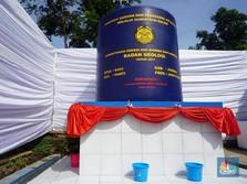 Ringankan Beban, ESDM Bikin Sumur Bor di Pengungsian Sentani