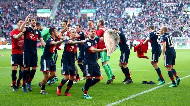 Bayern Munchen Juara Bundesliga 2017/2018