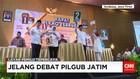 Adu Kuat Visi Misi Calon Gubernur Jawa Timur
