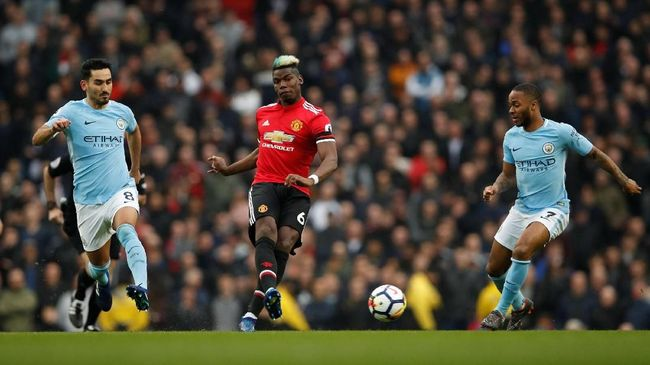 Jelang Man United vs Man City, Pogba Diklaim Pasti Hengkang