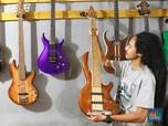 Gitar Buatan Industri Rumahan Tembus Pasar Internasional